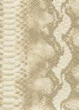 Leatheritz Wallpaper Python 56-Sand By Wemyss Covers Wallcoverings